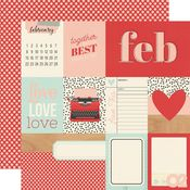February Paper - Hello Today - Simple Stories