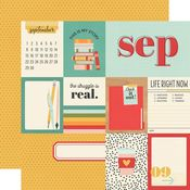 September Paper - Hello Today - Simple Stories - PRE ORDER