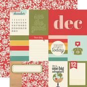 December Paper - Hello Today - Simple Stories - PRE ORDER