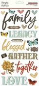Simple Vintage Ancestry Foam Stickers - Simple Stories