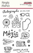 Say Cheese Main Street Clear Stamps - Simple Stories - PRE ORDER
