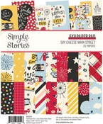 Say Cheese Main Street 6 x 8 Paper Pad - Simple Stories - PRE ORDER