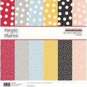 Say Cheese Main Street 12 x 12 Basics Kit - Simple Stories