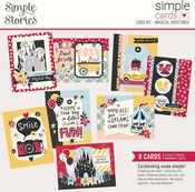 Magical Greetings Simple Cards Card Kit - Simple Stories - PRE ORDER