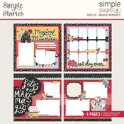 Magical Memories Simple Pages Page Kit - Simple Stories