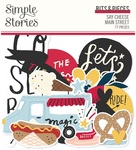 Say Cheese Main Street Bits & Pieces - Simple Stories - PRE ORDER