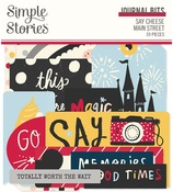 Say Cheese Main Street Journal Bits - Simple Stories