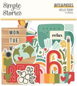 Hello Today Bits & Pieces - Simple Stories
