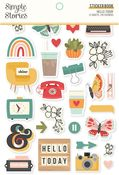 Hello Today Sticker Book - Simple Stories - PRE ORDER