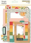 Hello Today Chipboard Frames - Simple Stories - PRE ORDER
