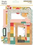 Hello Today Chipboard Frames - Simple Stories