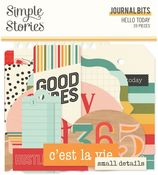 Hello Today Journal Bits - Simple Stories - PRE ORDER