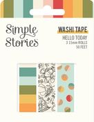 Hello Today Washi Tape - Simple Stories - PRE ORDER