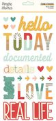 Hello Today Foam Stickers - Simple Stories - PRE ORDER