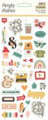 Hello Today Puffy Stickers - Simple Stories - PRE ORDER