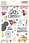 Say Cheese Main Street Sticker Book - Simple Stories - PRE ORDER