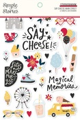 Say Cheese Main Street Sticker Book - Simple Stories