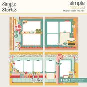 Happy Together Simple Pages Page Kit - Simple Stories - PRE ORDER
