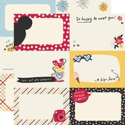 Autograph Cards Paper - Say Cheese Main Street - Simple Stories - PRE ORDER