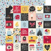 2 x 2 Elements Paper - Say Cheese Main Street - Simple Stories - PRE ORDER