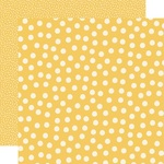 Yellow Dots Paper - Say Cheese Main Street - Simple Stories