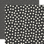 Black Dots Paper - Say Cheese Main Street - Simple Stories