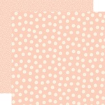 Blush Dots Paper - Say Cheese Main Street - Simple Stories