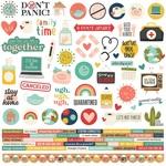 Quarantined Cardstock Sticker - Simple Stories
