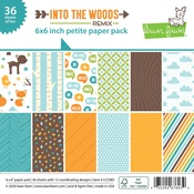 Into The Woods 6x6 Paper Pack - Lawn Fawn