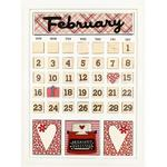 February Calendar Kit - Foundations Decor