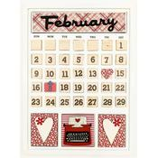 February Calendar Kit - Foundations Decor