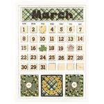 March Calendar Kit - Foundations Decor