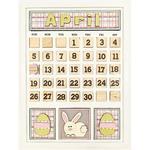 April Calendar Kit - Foundations Decor