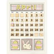April Calendar Kit - Foundations Decor
