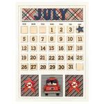July Calendar Kit - Foundations Decor