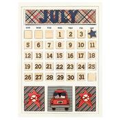 July Calendar Kit - Foundations Decor