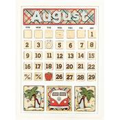 August Calendar Kit - Foundations Decor
