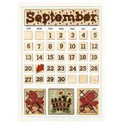 September Calendar Kit - Foundations Decor
