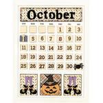 October Calendar Kit - Foundations Decor