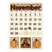 November Calendar Kit - Foundations Decor