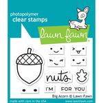 Big Acorn Clear Stamps - Lawn Fawn