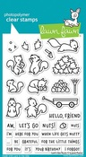 Let's Go Nuts Clear Stamps - Lawn Fawn