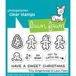 Tiny Gingerbread Clear Stamps - Lawn Fawn