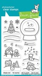 Snow Globe Scenes Clear Stamps - Lawn Fawn