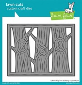 Lift The Flap Tree Backdrop Die - Lawn Fawn