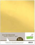 Metallic Gold 8.5 x 11 Cardstock - Lawn Fawn