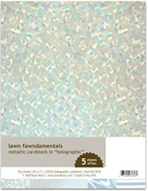 Holographic 8.5 x 11 Cardstock - Lawn Fawn