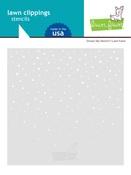 Snowy Sky Stencil - Lawn Fawn