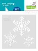 Snowflake Trio Stencil - Lawn Fawn