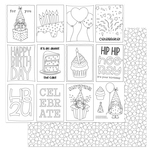 Color Me Paper - Tulla's Birthday Party - Photoplay